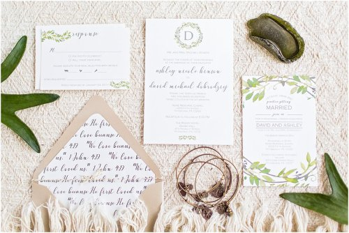 Medium Of Beach Wedding Invitations