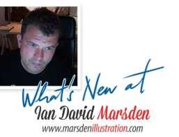 What's New at Ian Marsden Illustration