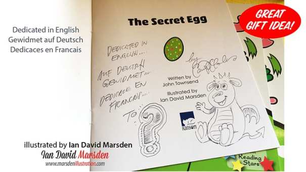 Example of hand signed book