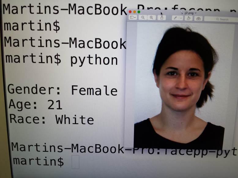 Testing diverse algoritms that analyze faces