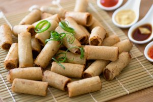Bite Size Lumpia (Egg Roll)