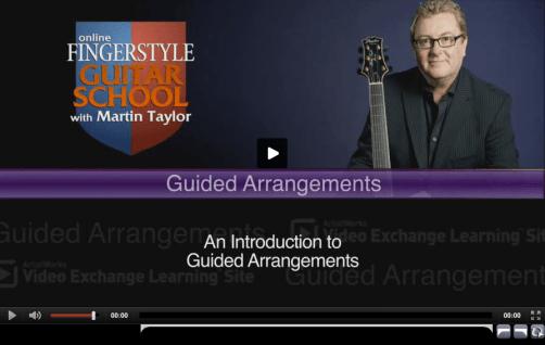 Guided Jazz Guitar Arrangements