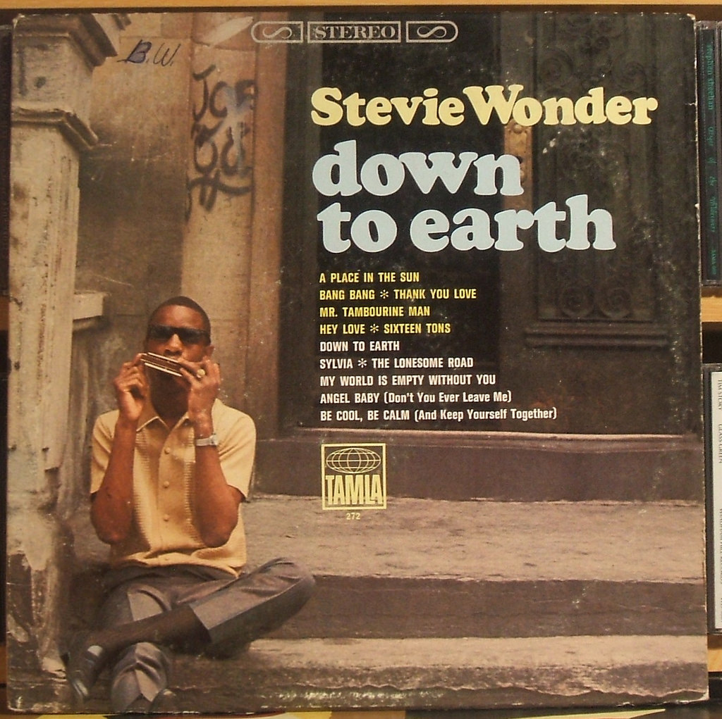 Stevie Wonder _Down to Earth