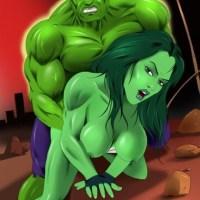 Hulk smash!.. and fuck She-Hulk!