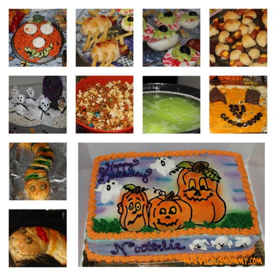 Halloween Themed Food Collage_16up
