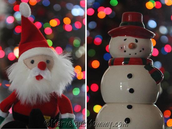 ©Snowman and Santa