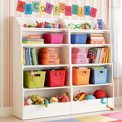 basket storage for kids toys