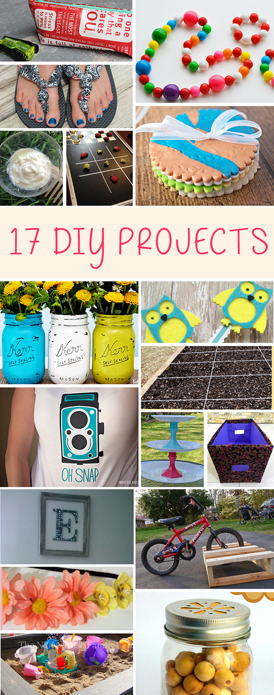 17 DIY PROJECTS