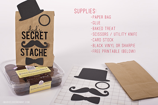 Fathers Day DIY Paper Bag