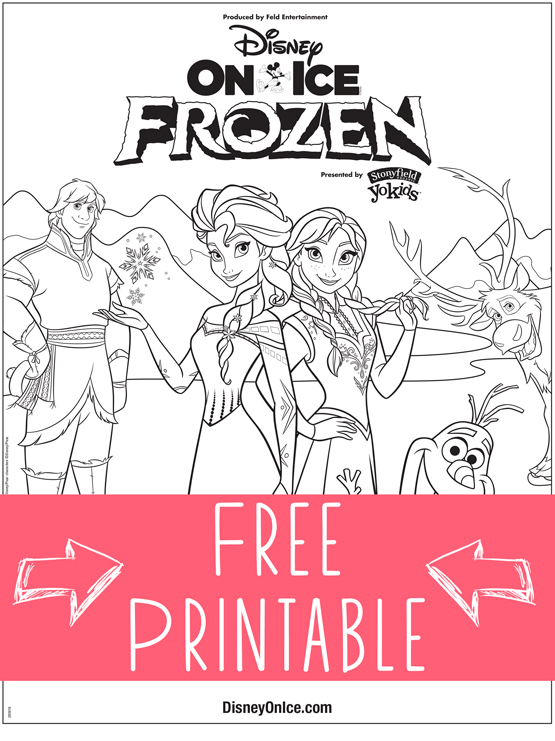 Frozen-Coloring-Sheet