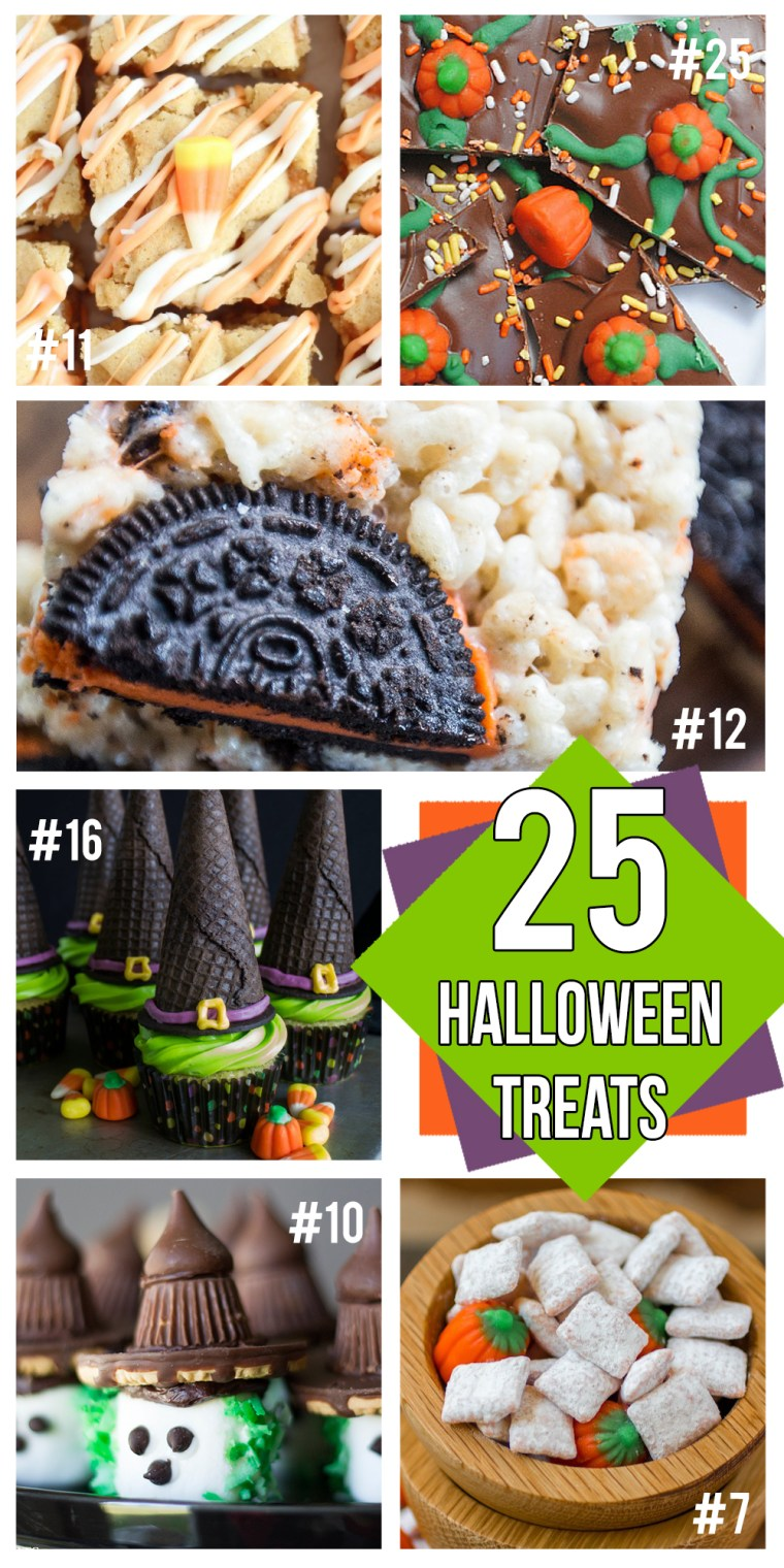 25 Halloween Themed Treats