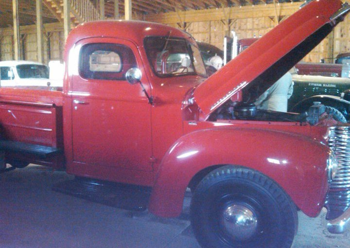 1949 INTERNATIONAL KB III COMPLETELY RENOVATED 9' BED, 21K MILES SOLD!