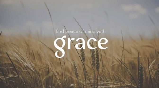 Word for the Year:  GRACE