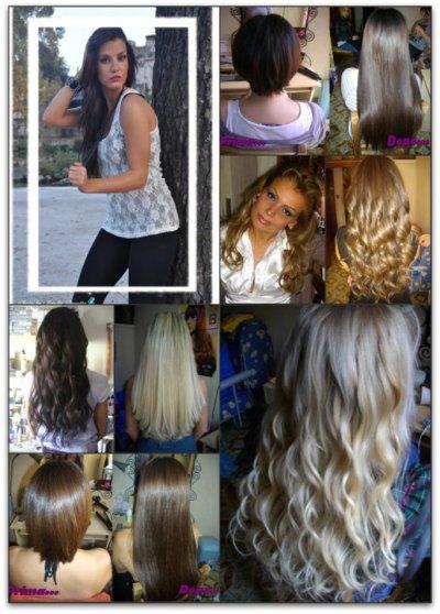 **Foto delle mie Clienti** – ** Il meraviglioso mondo delle hair extension
