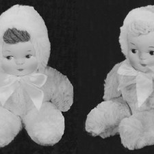 Sitting Baby Doll
