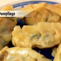 Chinese Dumplings 饺子 - Jiaozi
