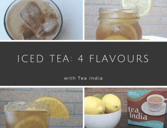 Recipes: Iced Tea 4 Ways