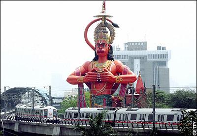 metro and Hanuman