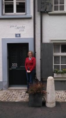 Jennifer Hamilton visits University of Basel, Switzerland in November.