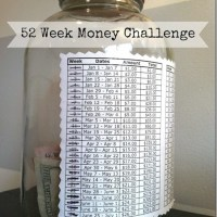 Mason Jar Money Challenge