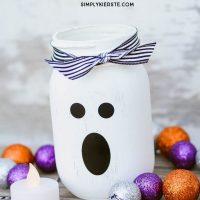 Mason Jar Ghost