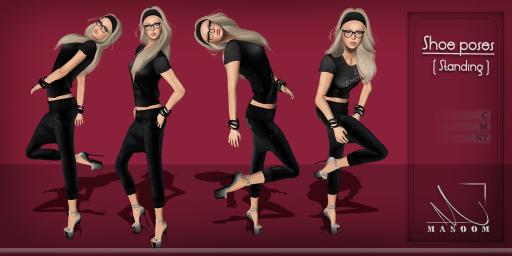 [[ Masoom ]] shoe poses[ Standing ]