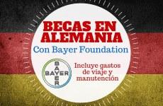Becas Bayer en Alemania para investigación en Ciencias