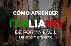 Aprende Italiano fácilmente : On line & gratuito