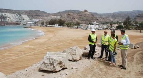 IUC pregunta por el modelo de regeneración de las playas en Canarias con arena del Sáhara