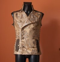 "alt=""steampunk double-breasted men's vest"""