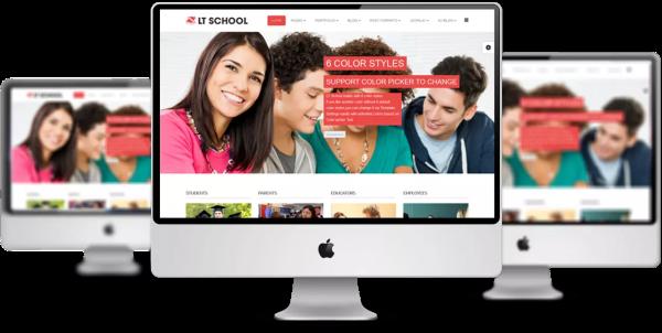 LT-School-Joomla-template