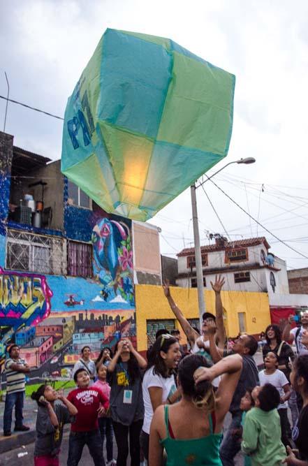 Muros sin Fronteras en Tepito