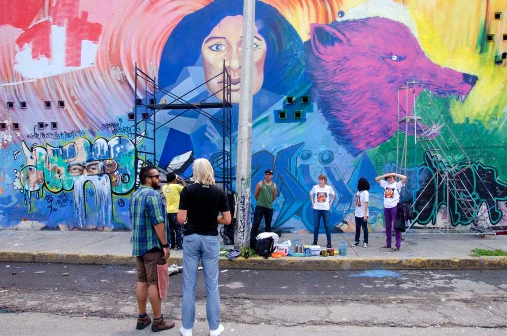 Muros sin Fronteras en Querétaro