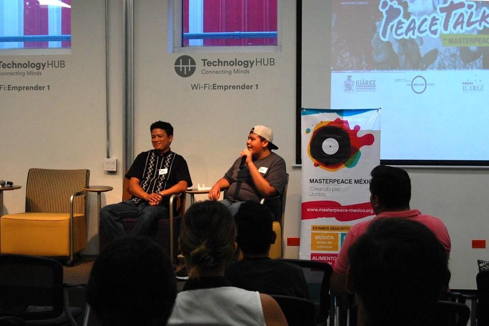 PeaceTalk ¿Cómo pueden el arte y la cultura contribuir a una ciudad resiliente?