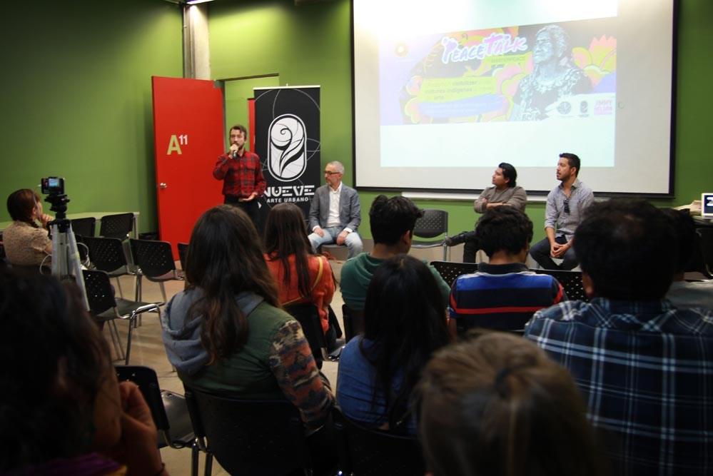 PeaceTalk ¿Podemos dar visibilidad a las culturas indigenas a través del arte?
