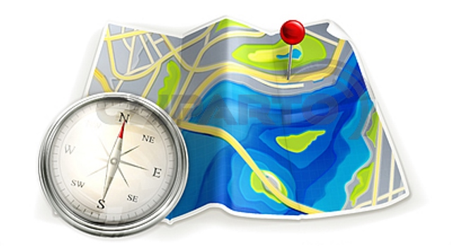 3777109-map-and-compass