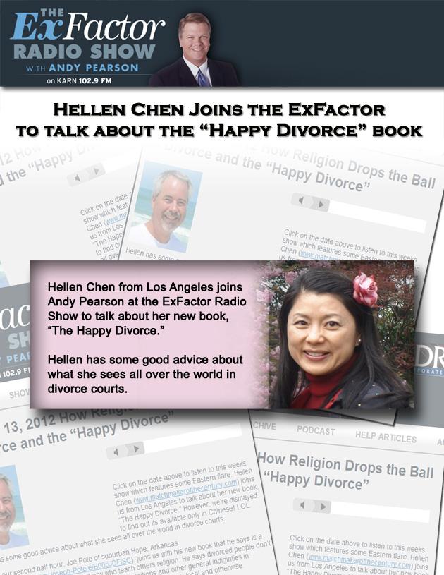 Hellen Chen on ExFactor Radio Show