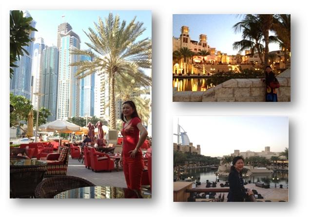 Hellen Chen Dubai Trip