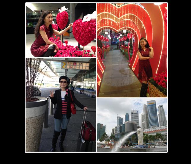 Hellen Chen in Singapore
