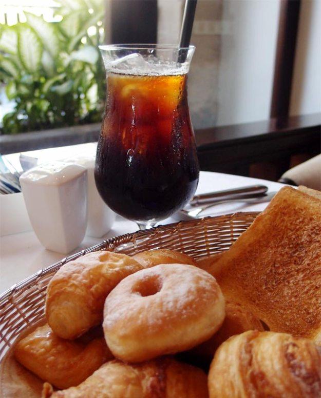 巴里島洲際Club Lounge早餐