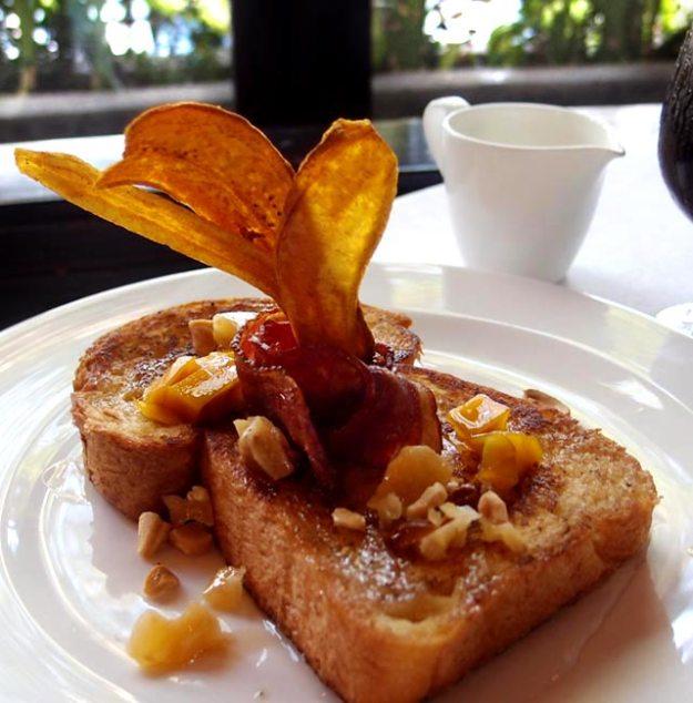 巴里島洲際Club Lounge早餐法式吐司