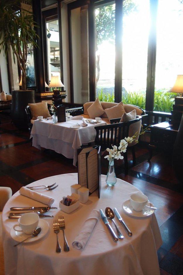 巴里島洲際飯店Club Lounge早餐