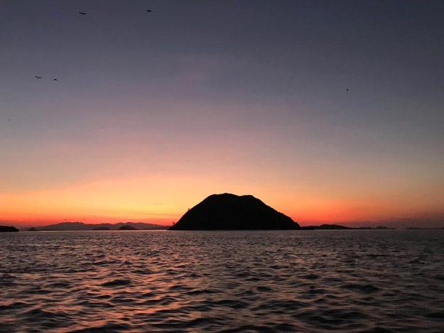 科莫多世界自然遺產-KALONG ISLAND夕陽