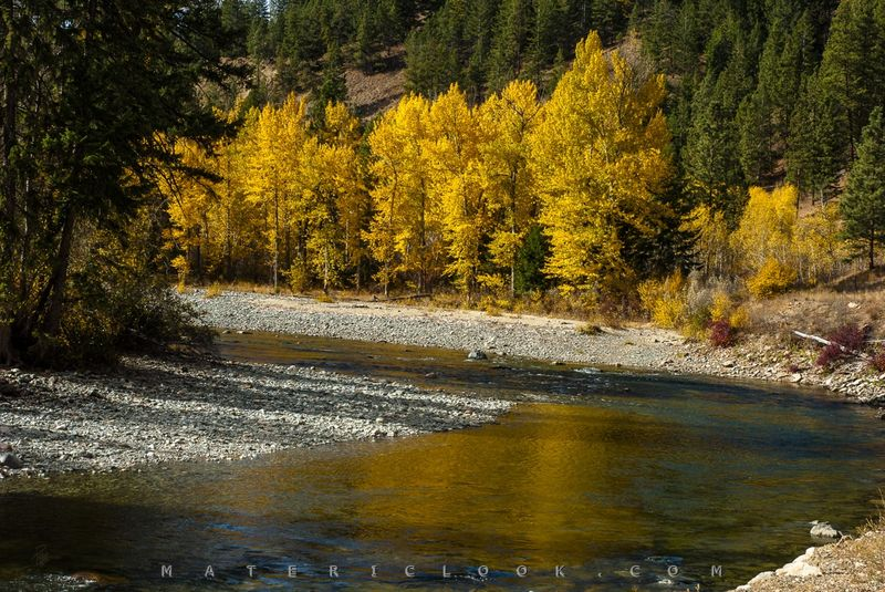 YellowByTheRiver by Francesco Perratone, MatericLook