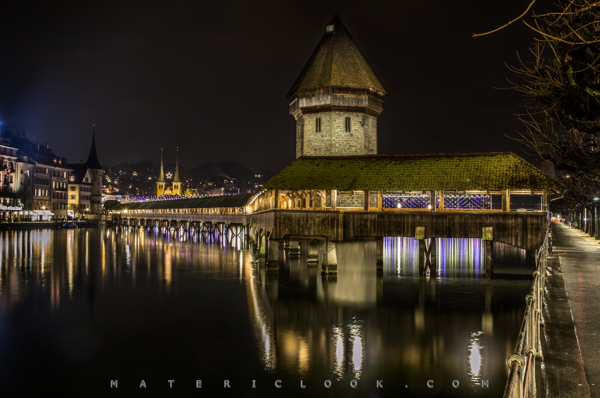 MatericLook: Kapellbrucke0 by Francesco Perratone