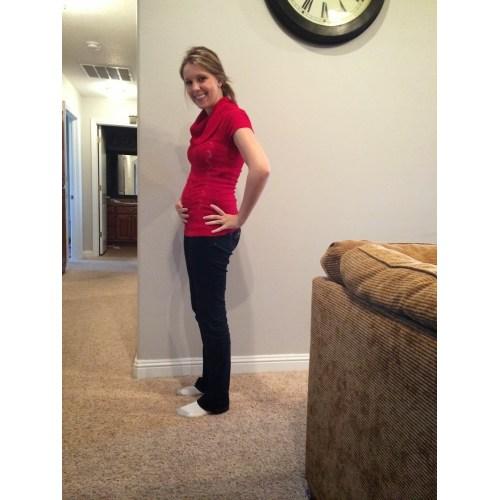 Medium Crop Of Pregnant At 17