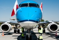 KLM Embraer 190 Krakow Airport