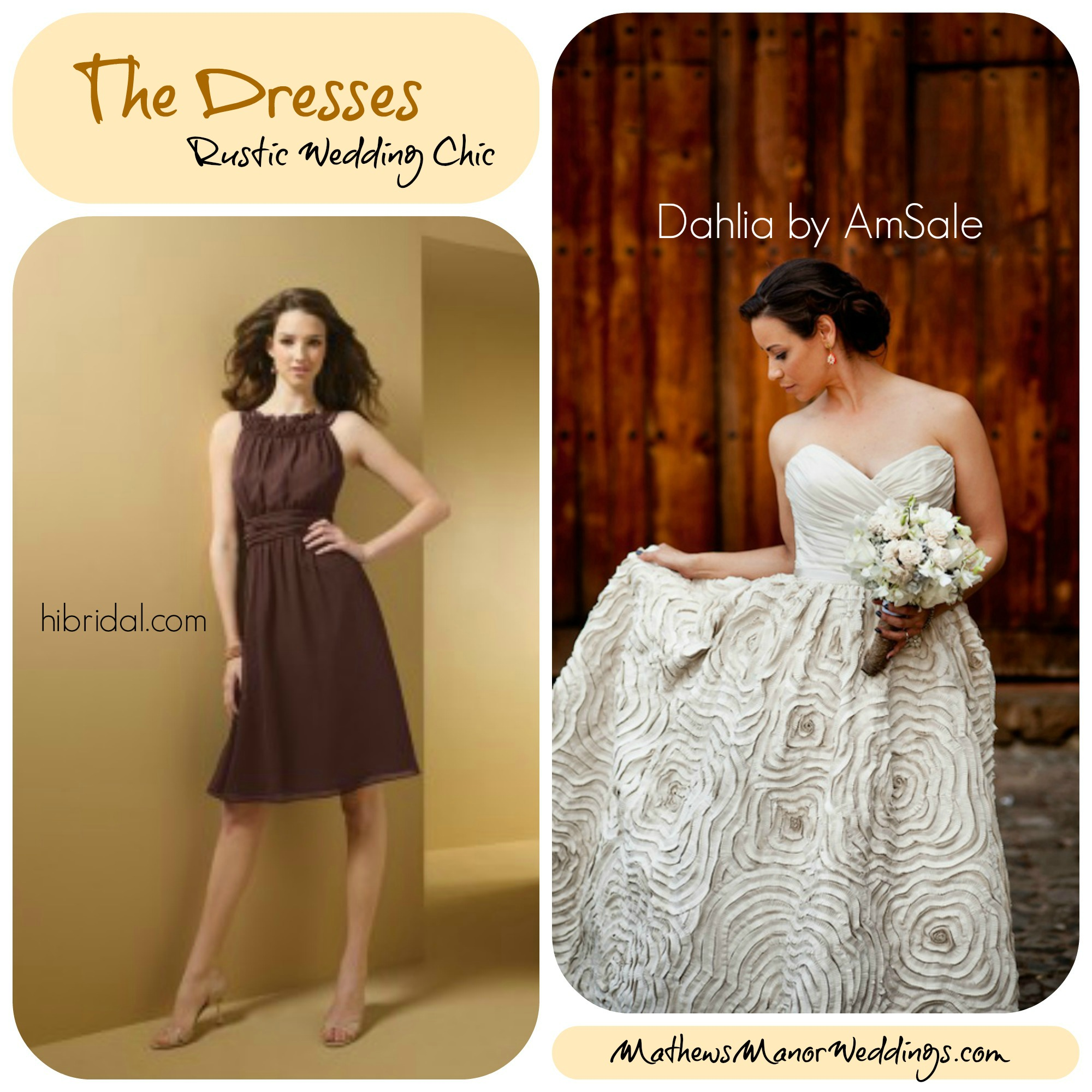 the best rustic themed wedding ideas mathews manor springville alabama country themed wedding dresses PicMonkey Collage I love these dress designs they would match perfectly with a rustic themed wedding
