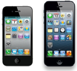 iPhone 4S et iPhone 5