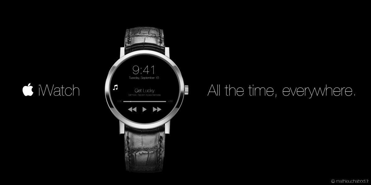 iWatch concept by mathieuchabod.fr